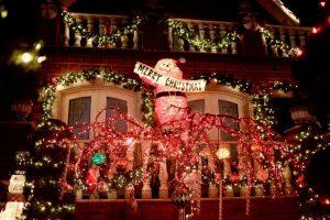 Houston Christmas Lights Bus Rentals, Limo, Limousine, Sedan, Van, SUV, Party Bus, Shuttle, Charter, Spirit, Holiday, Trail of Lights, Santa, Dallas, December Nights