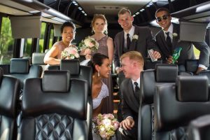 Houston Wedding Shuttle Bus Rentals, Limousine, Sedan, Party Bus, Charter, Bride, Groom, Classic, Vintage, Antique, White Rolls Royce Bentley, One Way, Limo, Bridal Party, Groomsmen